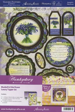 Bluebell & Elderflower Luxury Topper Set By Hunkydory